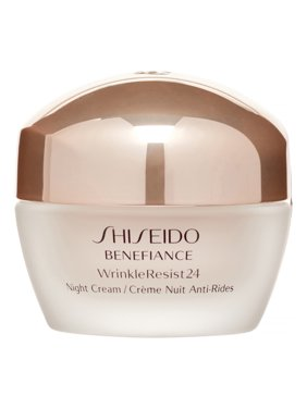 ($63 Value) Shiseido Benefiance Wrinkle Resist 24 Night Cream, 1.7 Oz