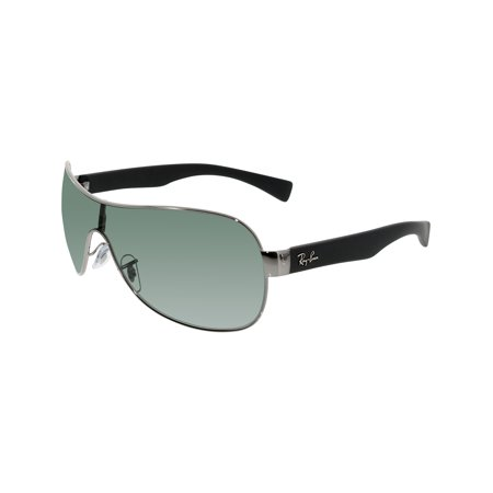 bed7367c53 Ray-Ban Men s Highstreet RB3471-004 71-32 Gunmetal Shield Sunglasses ...