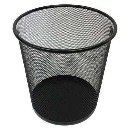 Mesh Round Wastebasket - Sandusky Buddy Mesh Rounded Wastebasket