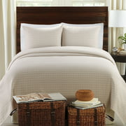 LaMont Home Lanai Collection – 100% Cotton Matelassé Coverlet Set