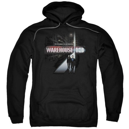 Warehouse 13 The Unknown Mens Pullover Hoodie