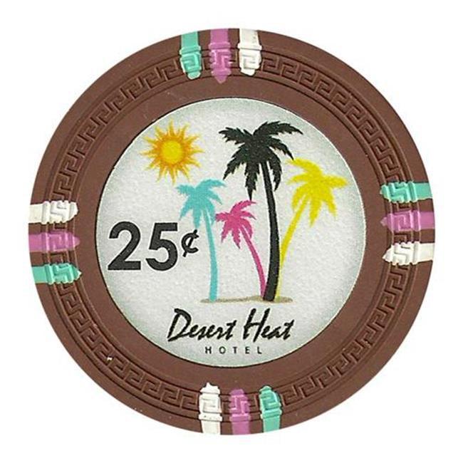Bry Belly CPDH-25c 25 Roll of 25 - Desert Heat 13. 5 Gram - . 25¢ - cent