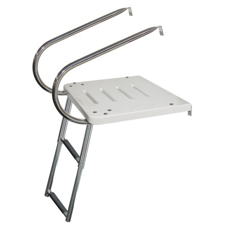 - Kimpex Transom Platform 2 Arms and Telescopic Ladder Telescopic - 2   #709656