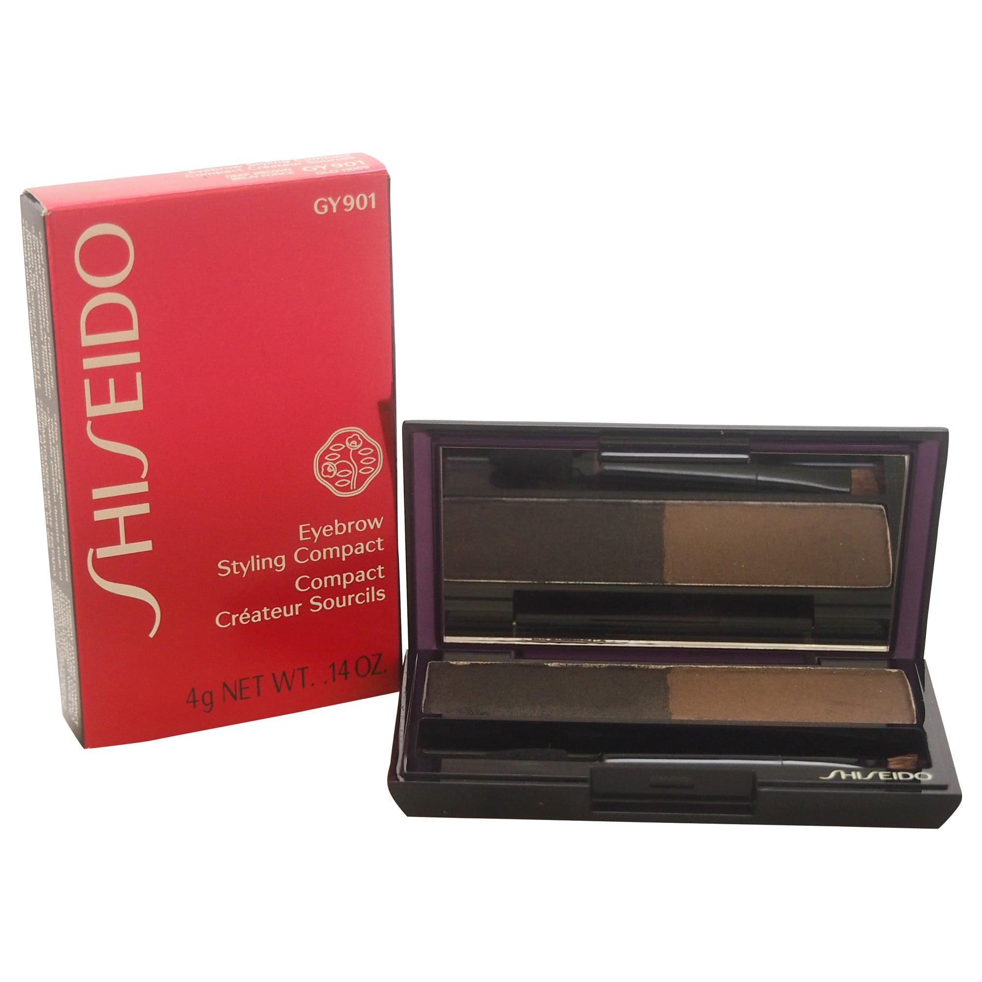 Shiseido Eyebrow Styling Compact, #GY901 Deep Brown, 0.14 Oz