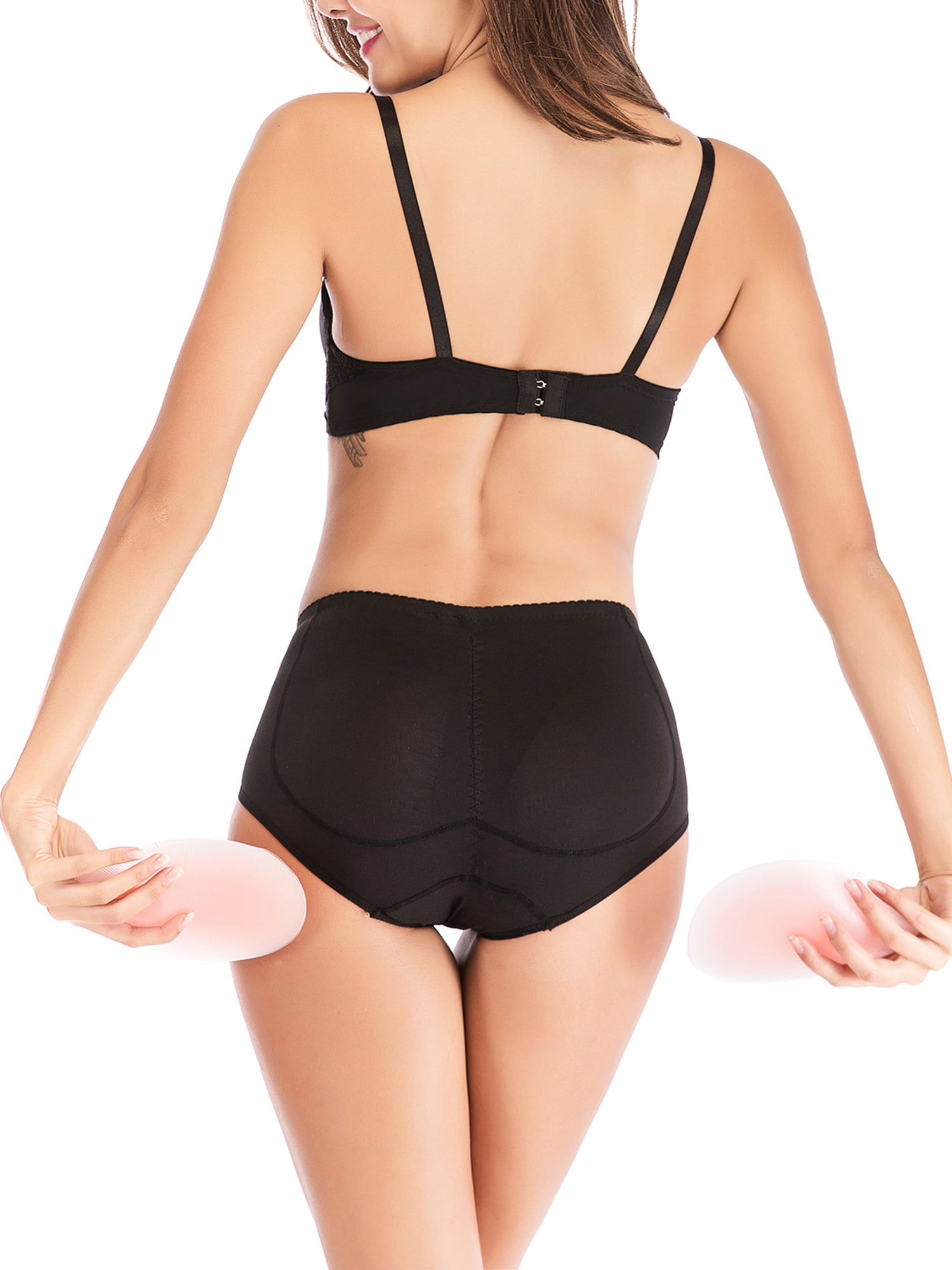 545b31ef3f95 Lelinta - Women Padded Underwear Seamless Butt Lifter Hip Enhancer Body  Shaper Slimming Silicone Butt Hip Pads Sexy Buttock Panty - Walmart.com