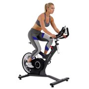 ASUNA Lancer Cycle Exercise Bike Magnetic Belt Rear Drive Commercial Indoor Cycling Bike by Sunny Health & Fitness