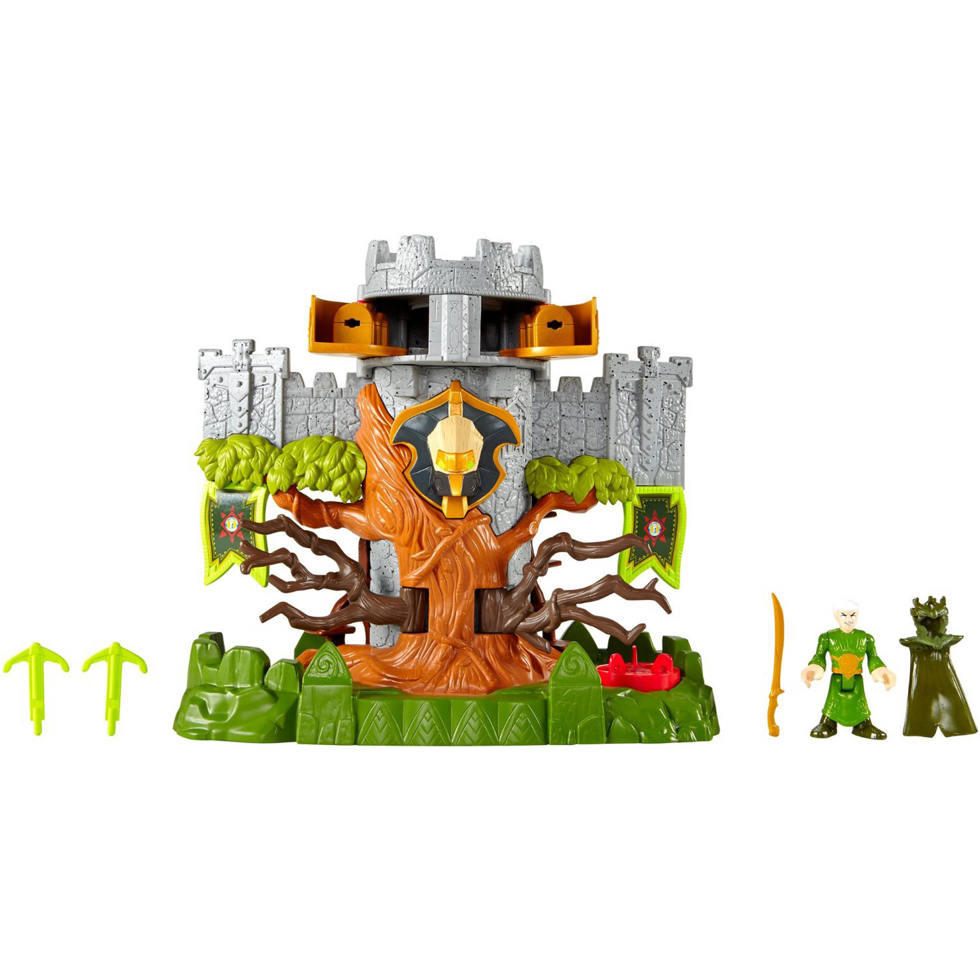 FisherPrice Imaginext Woodland Castle  Walmartcom