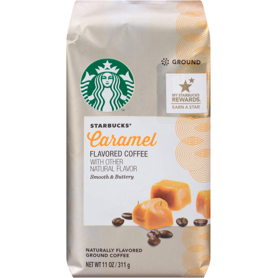 Starbucks Natural Fusions Caramel Ground Coffee, 11 oz