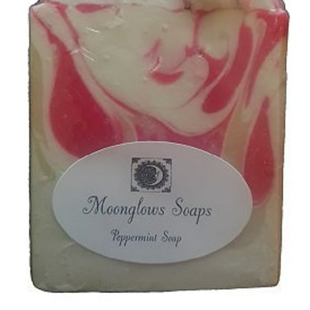 Mollys Deluxe Peppermint Soap (8.2 oz) Bar