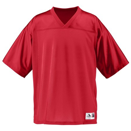 Replica Jersey T-shirt (Augusta Sportswear Mens Short Sleeve Replica Jersey, Red, X-Large, Style, 257)