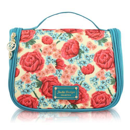 Jacki Design  Miss Cherie Floral Hanging Toiletry Bag