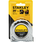 Stanley Chrome 25' PI Measuring Tape