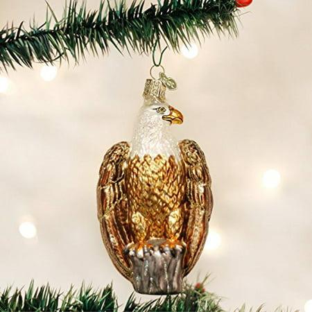 Old World Christmas Bald Eagle Glass Blown Ornament