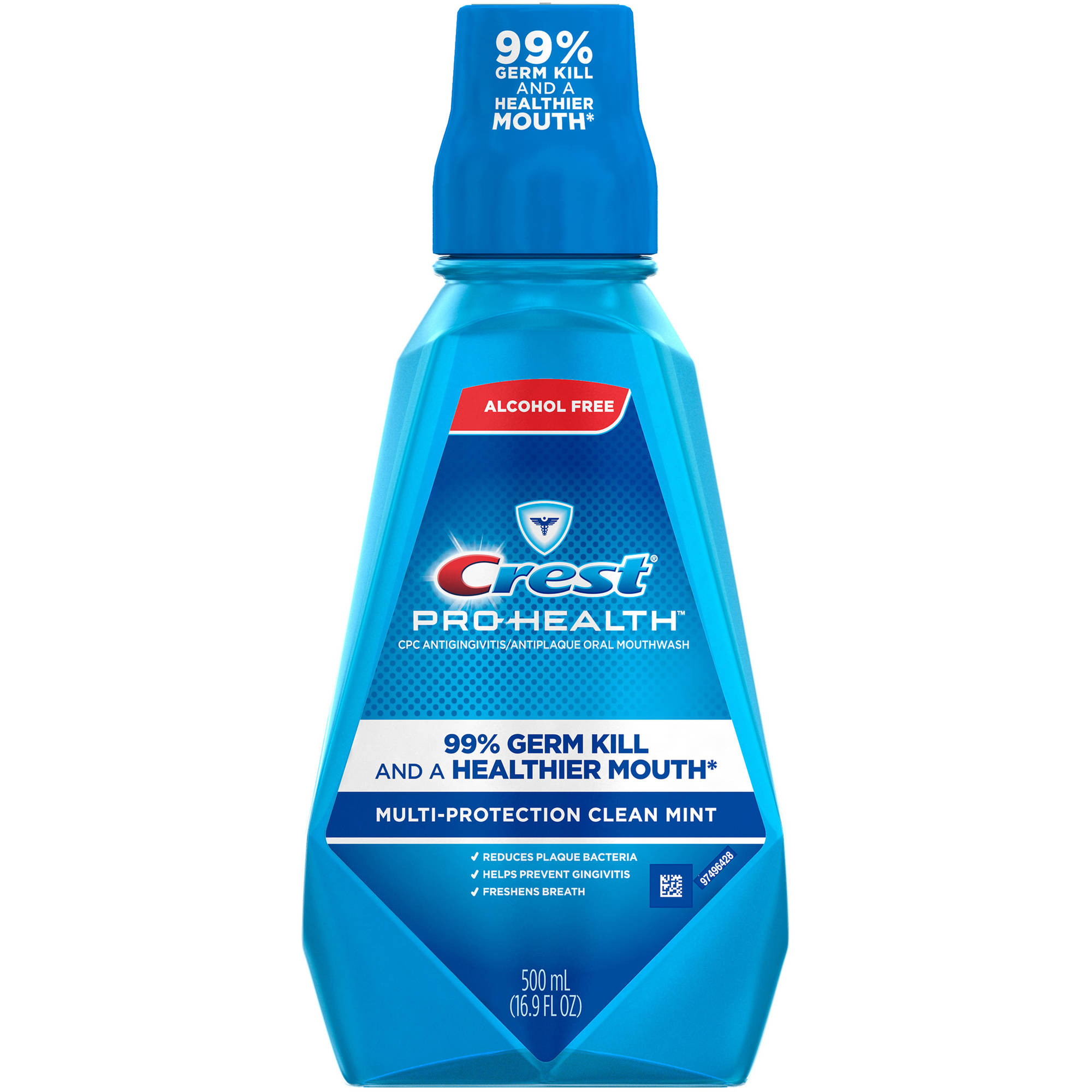 Crest Pro-Health Multi Protection Clean Mint Mouthwash, 16.9 fl oz