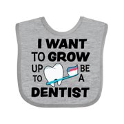 I Want To Grow up To Be a Dentist Baby Bib