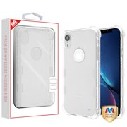 """Apple iPhone XR (6.1 Inch) Phone Case Clear Shockproof Hybrid Bumper Rubber Silicone Gel Cover Highly Transparent Clear Phone Case for Apple iPhone Xr (6.1"""")"""