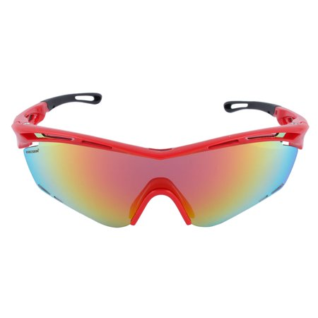 ROBESBON Authorized Unisex Outdoors Polarized Goggles Lens Cycling Glasses (Womens Cycling Glasses)