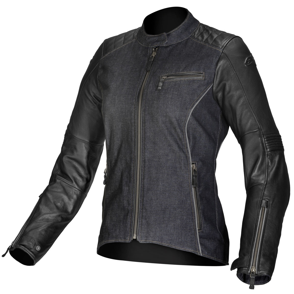 Alpinestars Renee Womens Stella Textile/Leather Jacket Black