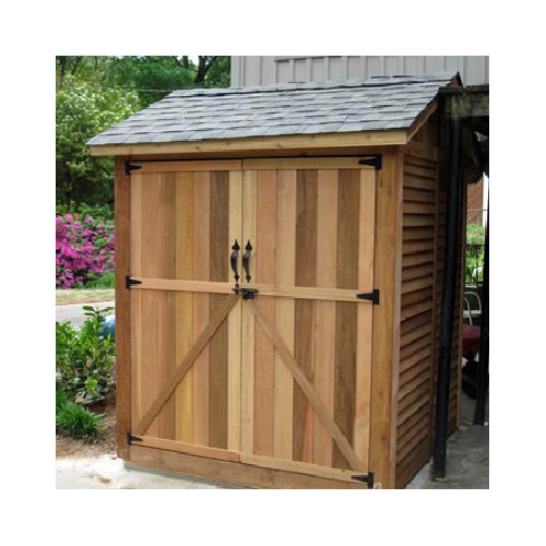 Outdoor Living Today Maximizer 6 Ft. W x 6 Ft. D Wood Storage Shed