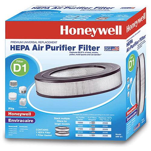 Honeywell Universal HEPA Filter D, 1 Pack, HRF-D1