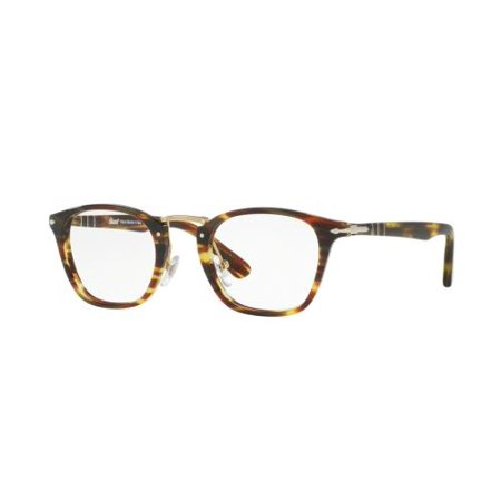 PERSOL Eyeglasses PO3109V 938 Green Striped Brown - 938 Green