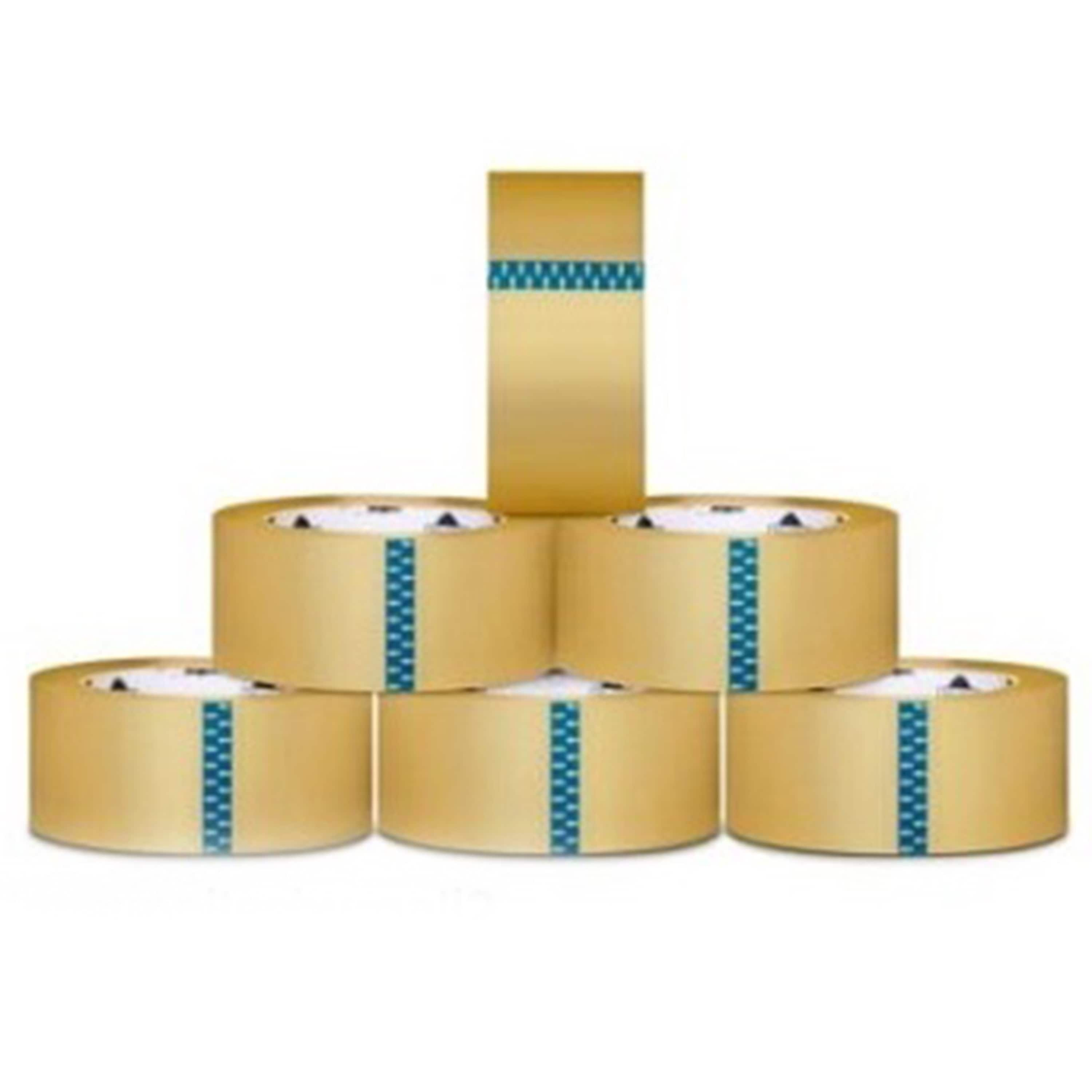 Packagingsuppliesbymail 3240 Rolls Carton Sealing Clear Packing / Shipping / Box Tapes 1.6 Mil 2 Inch x 110 yards