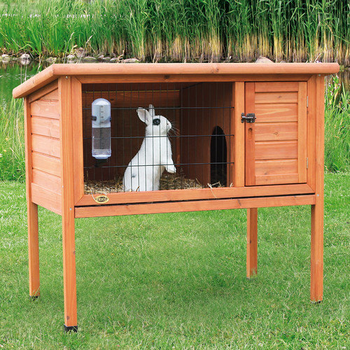 Trixie Pet Products Natural 1 Story Small Animal Hutch