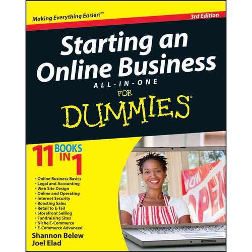 Starting an Online Business All-in-One For Dummies by Shannon Belew