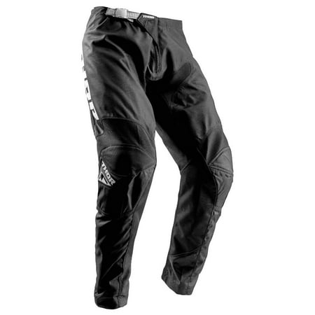Thor Sector Zones Mens MX Offroad Pants Black (Mens Dirt Bike Pants 32)