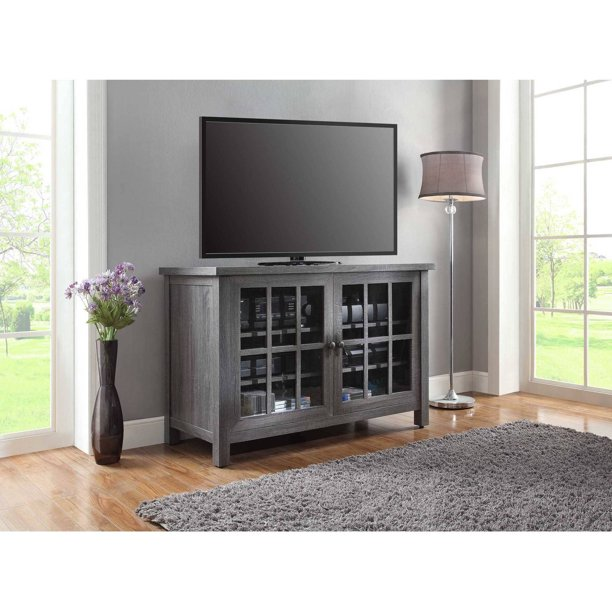"""Better Homes & Gardens Oxford Square TV Stand for TVs up to 55"""", Gray"""