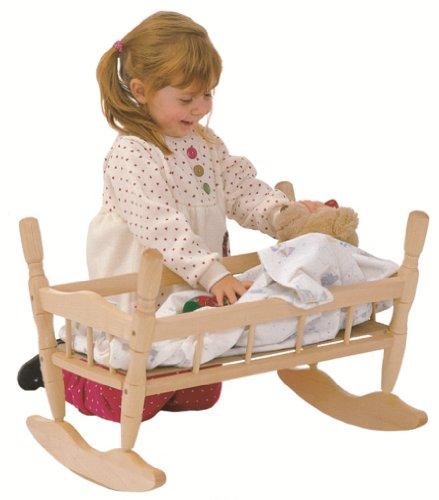 Steffy Wood Doll Cradle