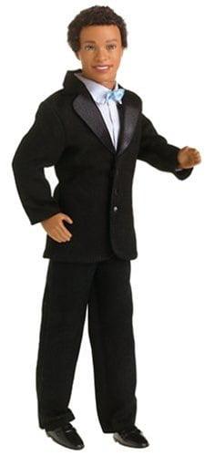 Handsome Groom Barbie Doll African American by