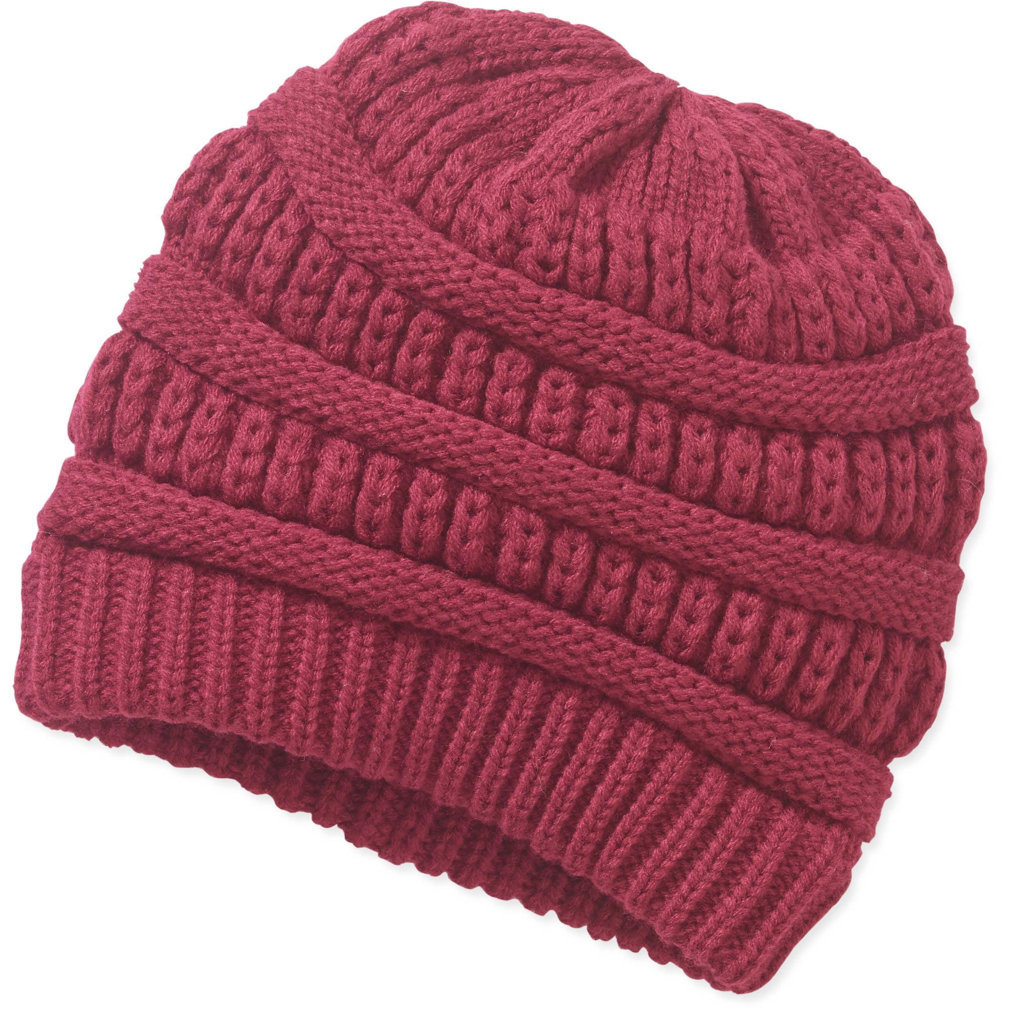 Cold Weather Textured Beannie Hat
