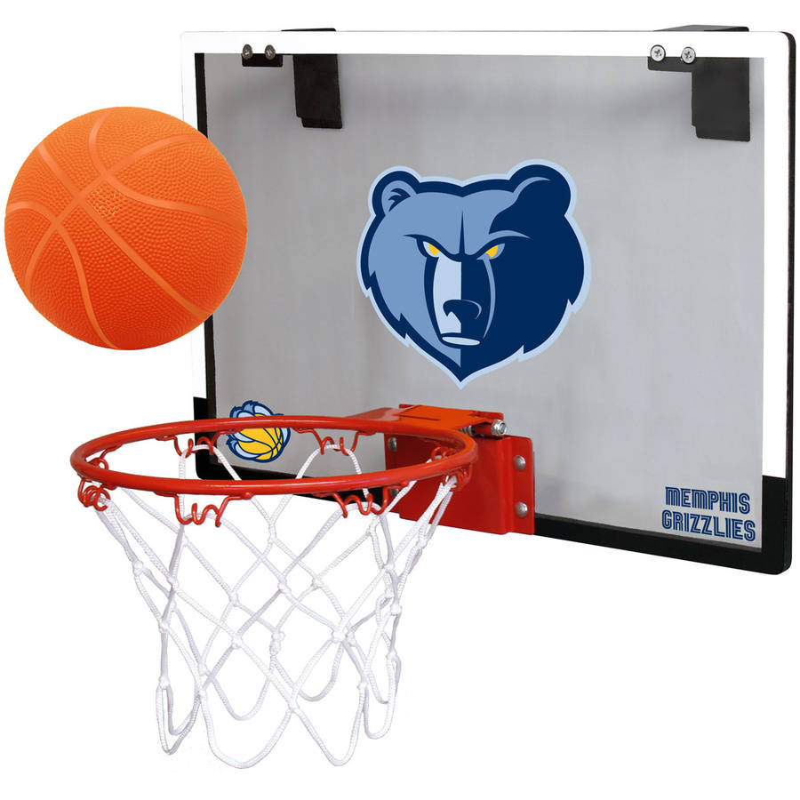 Rawlings NBA Game On Polycarb Hoop Set Memphis Grizzlies