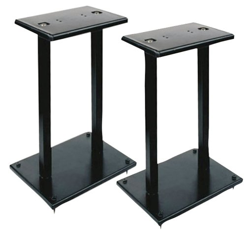 "Pylepro Pstnd18 Speaker Stand - 35 Lb Load Capacity - 13"" Height - Black - Steel (pstnd18)"