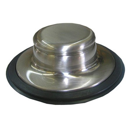 lasco 30151sn garbage disposal sink stopper for insinkerator brand, satin nickel