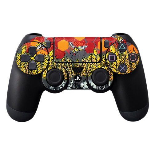 MightySkins Skin For Sony PS4 Controller | Protective, Durable, and Unique Vinyl Decal wrap cover | Easy To Apply, Remove, and Change Styles | Made in the USA