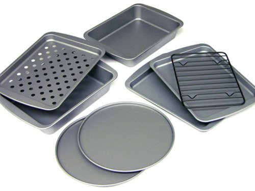 8-Piece Personal-Size Toaster Oven Bakeware Set, Ship from USA,Brand OvenStuff by