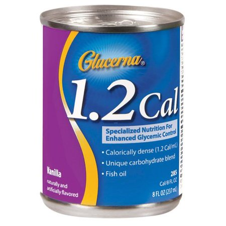 Oral Supplement Glucerna® 1.2 Cal Vanilla Flavor 8 oz. Can Ready to Use