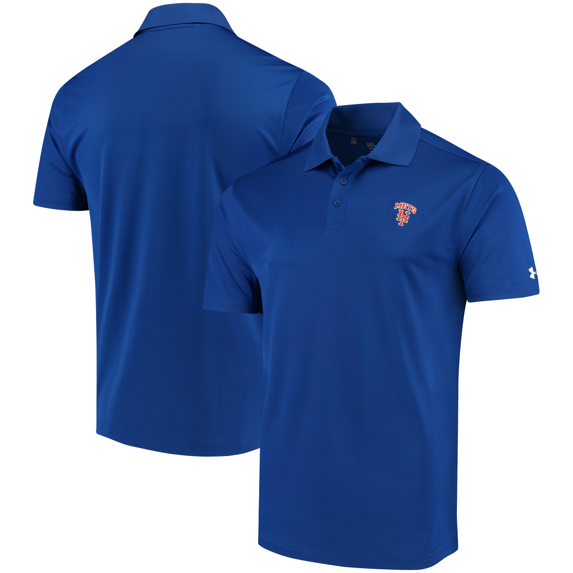 New York Mets Under Armour Performance Polo - Royal