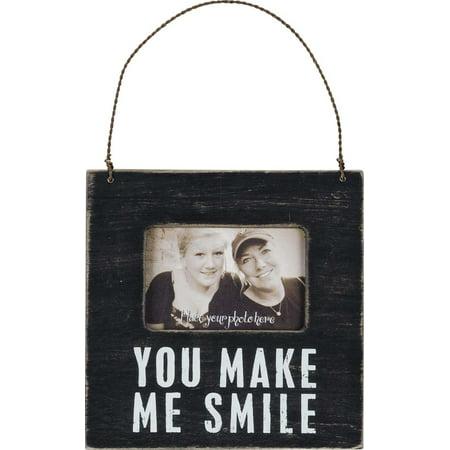 Primitives You Make Me Smile Mini Frame (Large Primitive Pictures)