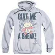 Mighty Mouse - Give Me A Break - Pull-Over Hoodie - Large