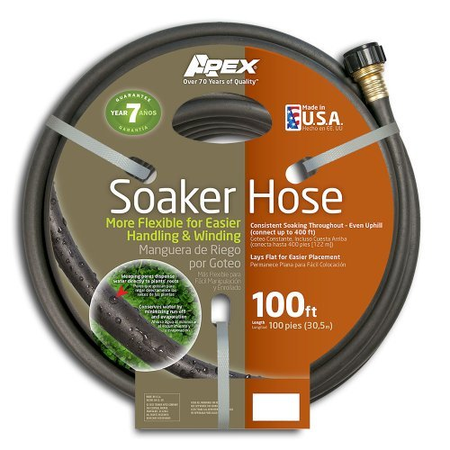 Apex 1030-100 Soil Soaking Hose, 100-Feet, USA, Brand Tek...
