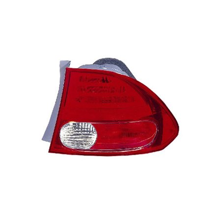 Replacement Passenger Side Tail Light For 06-07 Honda Civic HO2801165