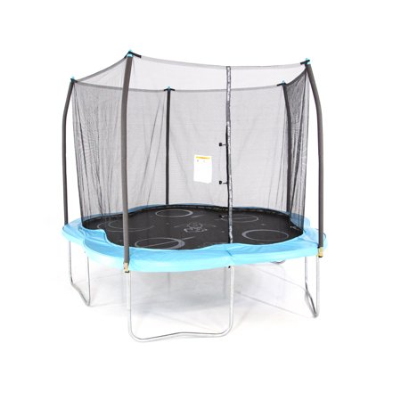 Skywalker Trampolines 11' Adventure Arena Trampoline with Enclosure - Space Exploration