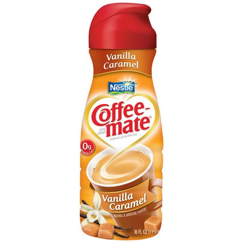 Nestle Coffee-Mate Vanilla Caramel Liquid Coffee Creamer, 16 oz