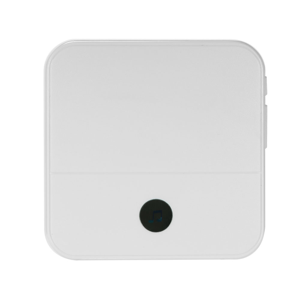 1PCS US Wireless Doorbell Chime With LED 4 Levels Volume 52 Ringtones Compatible with Smart Video Doorbell