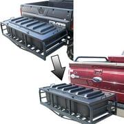 Great Day HNRCK2 Hitch-n-Ride Conversion Kit Straight Bar - ATV-UTV To Truck