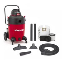 Shop Vac 597-31-36 14 Gallon 6.5 PHP Wet & Dry Vac With Contractor Cart & Transport Handle