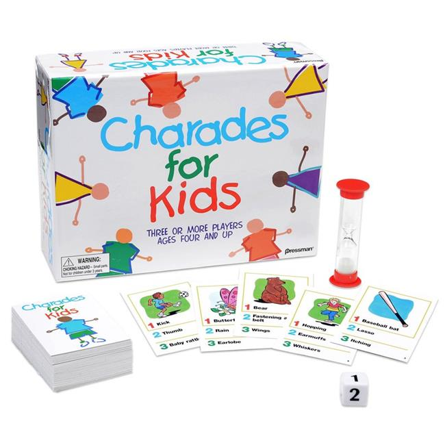 Pressman Toys PRE300912BN 2 Each the Best of Charades for Kids Game by Pressman Toy Corp